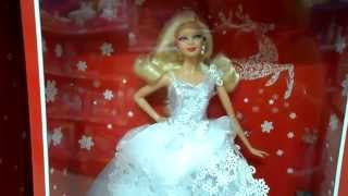 preview picture of video 'I love this Christmas Holiday Barbie Disney Princess Doll'