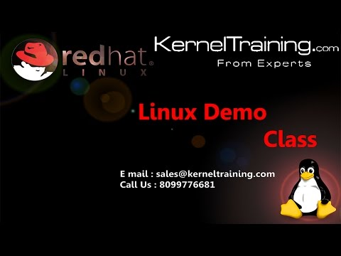 Linux Admin Training Video Tutorial For Beginners - YouTube