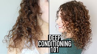 How To Deep Condition Curly Hair For Beginners