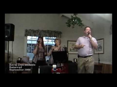 Renewed Trio Singing Royal Descendant