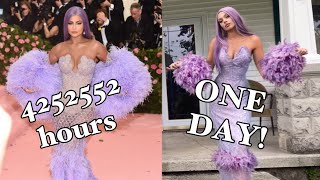 MAKING KYLIE'S MET DRESS IN A DAY