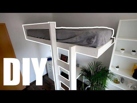 Schwebendes Hochbett selber bauen | MrHandwerk