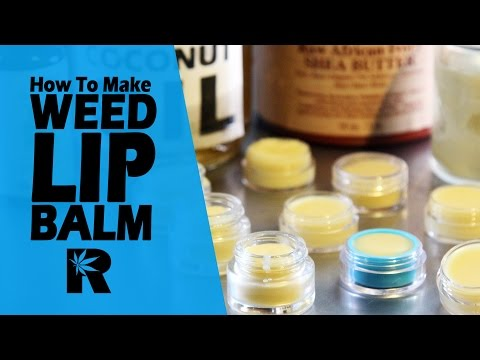 How To Make Cannabis Lip Balm (Burt's Buzz Peppermint Beeswax): Cannabasics #57