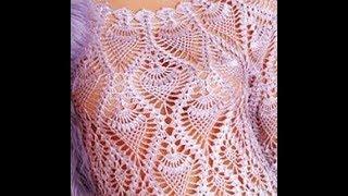 Платье Ананасами Крючком 2017 / Dress with Pineapple Hook / Kleid Ananas Haken