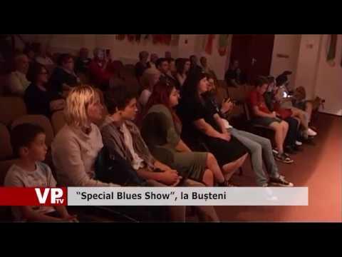 """""""Special Blues Show"""", la Bușteni"""