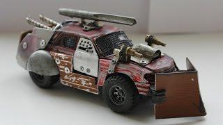 Машинка MAD MAX. Боевая модель