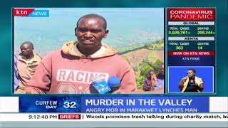 Murder in the Valley: Angry mob lynches man suspected of killing his children in Elgeyo Marakwet