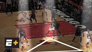 Dennis Rodman breaks down the Chicago Bulls' triangle offense | Detail on ESPN+
