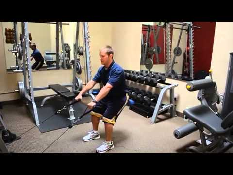 Cable Squat with Row