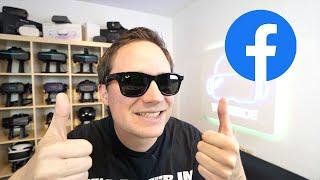 Mein Review der neuen Facebook-Smartbrille - RAY-BAN STORIES + COUPON-CODE