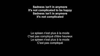 Angèle Ft. Roméo Elvis   Tout Oublier   English Translation And Lyrics