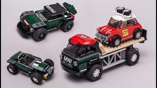 LEGO 75894 Mini Cooper alternative models in pictures