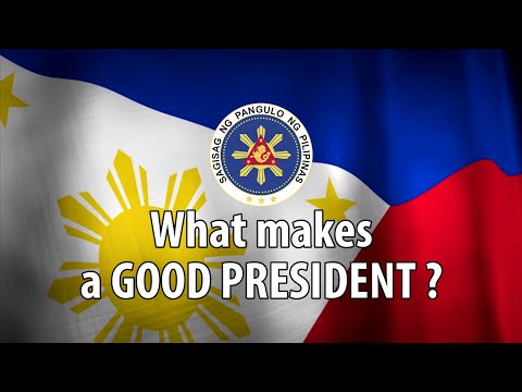 What makes a good President?