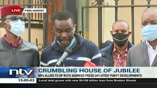 DP Ruto allies speak on the ongoing wrangles in Jubilee