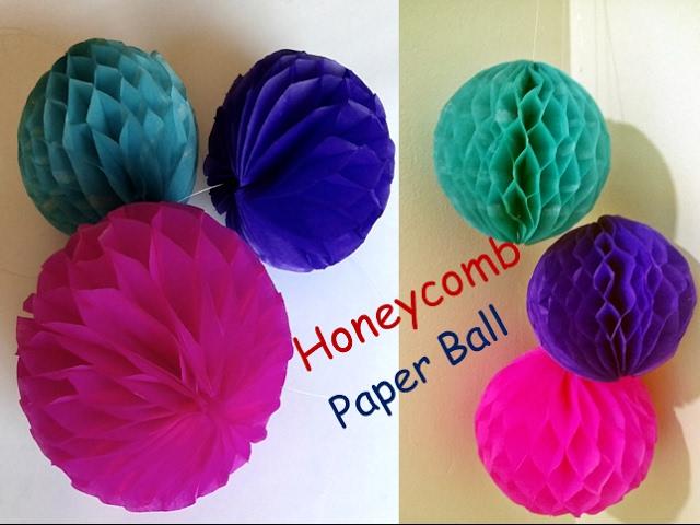 Paper-honeycomb-ball-honeycomb