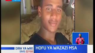 Hofu ya wazazi Mombasa baada ya mwanawao kutoweka