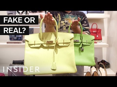 The Secret to Spotting Fake Designer Bags