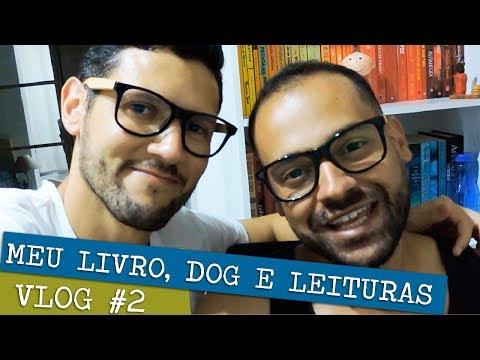THE VLOG #2 | LIVROS, DOGS E BODAS DE PAPEL ?  IRMÃOS LIVREIROS