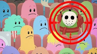 Dumb Ways To Die 1 + 2 - Movie Theater + Kids Back To School - Trolling Funny Kids Games