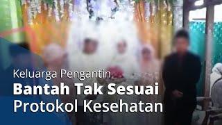 Pernikahan Berujung Klaster Baru Corona di Semarang, Keluarga Pengantin Bantah Tak Sesuai Protokol