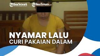 Seorang Pria Nyamar Jadi Wanita Lalu Curi Pakaian Dalam, Mengaku Depresi Ditinggal Istri