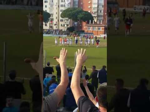 Preview video Atletico Piombino - Cecina 4-1 - Festeggiamenti sotto la gradinata