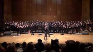 UCB Gospel Chorus Noon Concert 3/13/2013 (7/7) I Will Make the Darkness Light