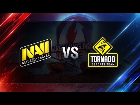 World of Tanks - Natus Vincere vs Tornado Energy - WGLRU S2 2016-2017 - The Final - part 1