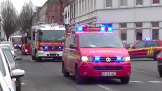 preview picture of video '[Durchsage/Gong] 2x Löschzug der BF Krefeld FW 1'