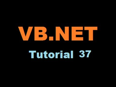 VB.NET Tutorial 37 : How to Create a PDF File in Visual Basic.NET