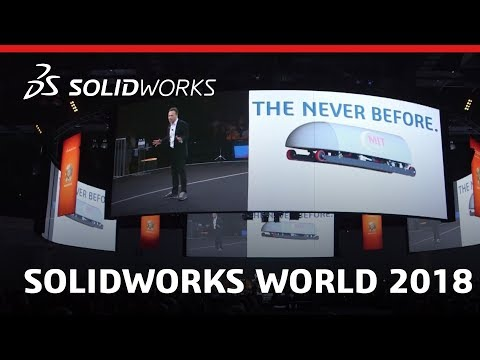 Experience SOLIDWORKS World 2018 - SOLIDWORKS