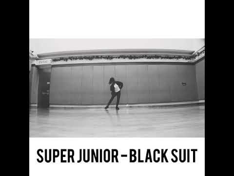 Super Junior - Black suit