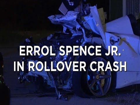 Errol Spence Jr. suffers serious injuries in Ferrari crash