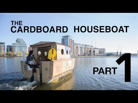 The Cardboard Houseboat - Part1 (видео)