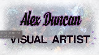 Wandsworth Creatives: Alex Duncan, Visual Artist
