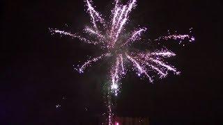 Самара. Новогодние фейерверки