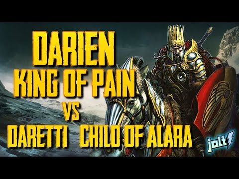 Jolt - Commander - Darien, King of Kjeldor vs Daretti, Scrap Savant/Child of Alara