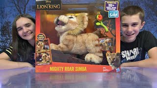 FurReal The Lion King Mighty Roar Simba Interactive Plush Toy