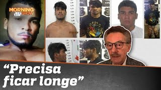 'Lázaro Barbosa é irrecuperável para a sociedade', diz Guido Palomba