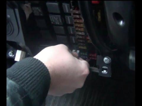 Замена предохранителя аварийки на ВАЗ - Lada Granta
