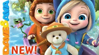 🐻 The Bear Went Over the Mountain | Nursery Rhymes and Baby Songs from Dave and Ava 🐻
