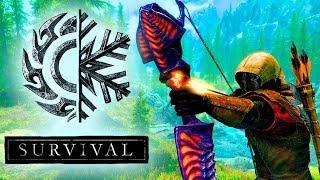 Skyrim Special Edition ( без повреждений ) Выживание Легенда! Лучник + Creation Club #3