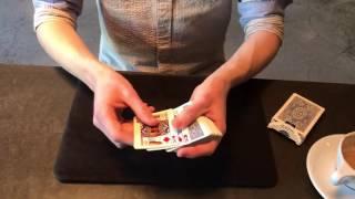 זריזות ידיים מטורפת בקלפים