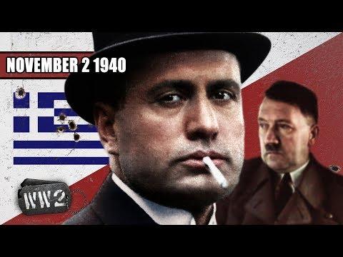 Italsko-řecká válka začíná - Druhá světová válka
