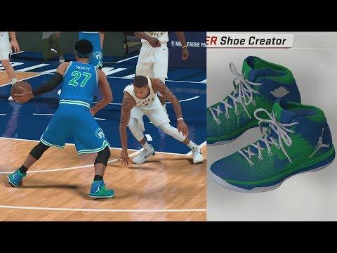 NBA 2K18 My Career – Signature Shoe Talk! Custom Colorway! PS4 Pro 4K  Gameplay 4b4e4a91440