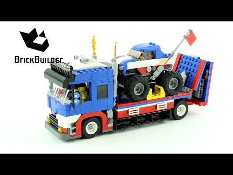 Vidéo LEGO Creator 31085 : Le spectacle des cascadeurs
