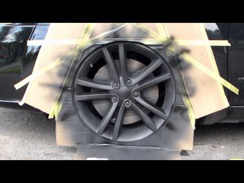 Applying Flexidip to a Dodge Avenger's Rims