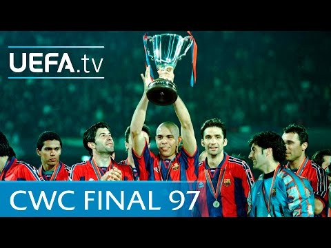 Barcelona v Paris Saint-Germain: 1997 UEFA Cup Winners' Cup final highlights