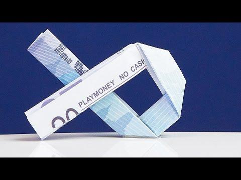 Originelles Geschenk zur TAUFE: Geldschein FISCH