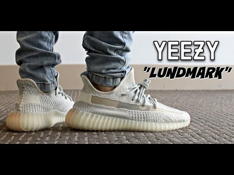 "(HYPE OR NOT) YEEZY 350 V2 ""LUNDMARK"" REVIEW & ON FEET"